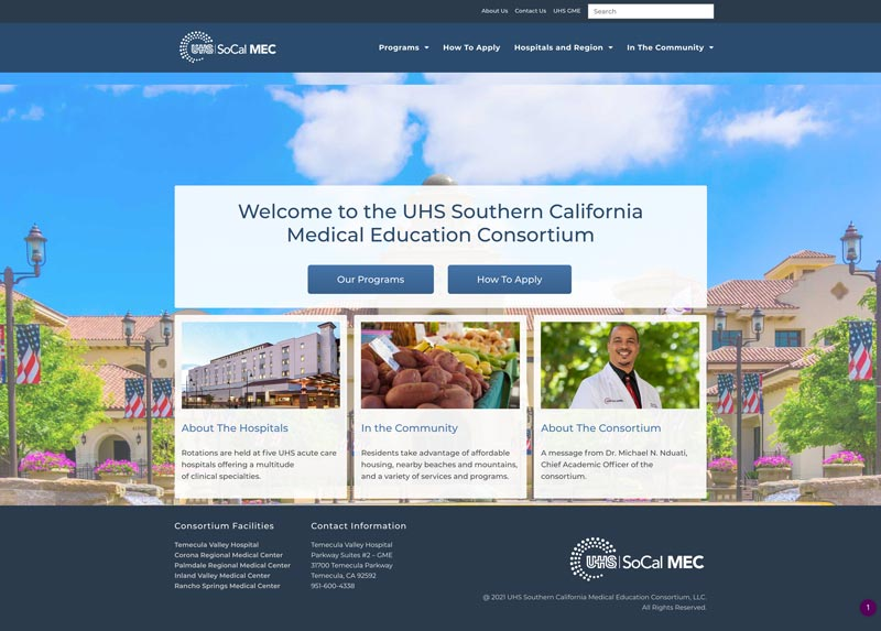 SoCal Residency Home Page